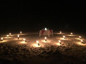 Private Island Dinner in Maldives