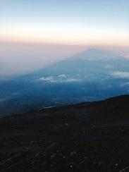 Shadow of Mount Fuji